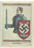 Nürnberg Reichsparteitag 1934 Maschinenwerbestempel - Militaria