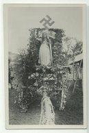 Erntedankfest Umzugswagen Mit Hakenkreuz Foto-AK Um 1935 R! - Militaria