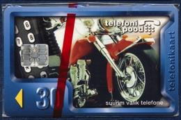 ESTONIA - ESTLAND - ESTONIE 30 UNITS CHIP PHONECARD TELECARTE MOTOR BIKE 1997 MINT SEALED - Estonia