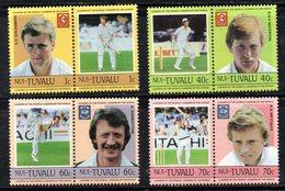 W3202 - NUI TUVALU , Serie LEADERS   ***  MNH CRICKET - Cricket