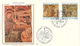 Vaticano 1992 FDC Filagrano Natale. - FDC