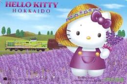 MANGA * Carte Prépayée Japon * Comics * CHAT * HELLO KITTY  (927) CAT Japan Prepaid Card * Katze Karte * - Comics