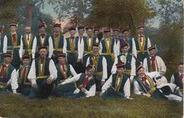 AK Polen - Bauern In Nationaltracht - Włościanki W Strojach Narodowych - Feldpost Landst.-Batln. Forbach - 1917 (38446) - Europa