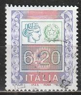 # 2002 Alti Valori Ordinari 6,20 - Usato - Oblitered - 6. 1946-.. Repubblica