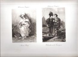 LOT GRAVURES & DIVERS (7 Pièces) - Engravings