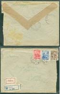 Yugoslavia 1951 Ambulance Bahnpost Railway Mail Ljubljana - Beograd 3 Rijeka - Postojna Letter - 1945-1992 Socialistische Federale Republiek Joegoslavië