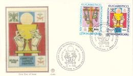 VATICANO - 1993 - 45° Congresso Eucaristico Internazionale. Sevilla Su FDC Filigrano. - FDC