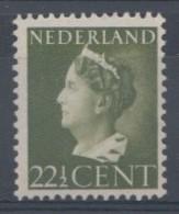 Pays-Bas 1940  Mi. Nr: 347 Königin Wilhelmina  Neuf Sans Charniere / MNH / Postfris - Ungebraucht