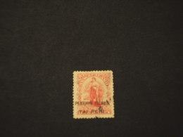 PENRHYN- 1902/3 DONNA TAI PENI - TIMBRATO/USED - Penrhyn