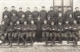 """AVIATEURS   """"SOUVENIR DE L'INSTRUCTION 12.33 """" CARTE PHOTO 1933 - Guerre, Militaire"""