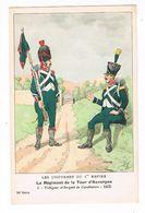 Uniforme.1er Empire. Voltigeur  Et Sergent De Carabiniers.1805.   BUCQUOY.  (61) - Uniforms