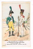 Uniforme.1er Empire. Adjudant Major Petite Tenue.Carabinier. 1807.   BUCQUOY.  (63) - Uniformen