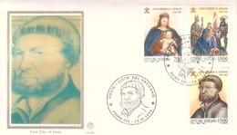 FDC VATICANO 1993 Filagrano Unif. 975/7 Hans Holbein. - FDC