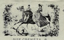 PARIS 1879 Superbe Et Rare  Entête  VEUVE BOYER FOUETS ET CRAVACHES Pour MASSON Sellier à Paris B.E. VOIR SCANS - France