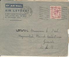 Great Britain Aerogramme Littlehampton 30-12-1944 - Stamped Stationery, Airletters & Aerogrammes