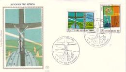 FDC VATICANO 1994 Filagrano Unif. 990/1 Assemblea Per L'Africa Nel Sinodo. - FDC