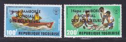 TOGO AERIENS N°  270 & 271 ** MNH Neufs Sans Charnière, TB (D8040) Scouts, Jamborée Mondiale Des éclaireurs - 1975 - Togo (1960-...)