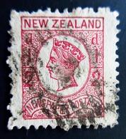1875 New Zealand Yt 48 . Queen Victoria  Oblitérés Used - 1855-1907 Colonie Britannique