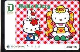MANGA * Carte Prépayée Japon * Comics * CHAT * HELLO KITTY  (990) I.O.* JR * CAT Japan Prepaid Card * Katze Karte * - Fumetti