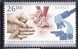 2018-0220 Norway 2010 Centenary Of National Health Association MNH ** - Norwegen