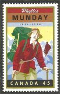 Canada Phyllis Munday Escalade Mountain Climbing MNH ** Neuf SC (C17-51b) - Escalada