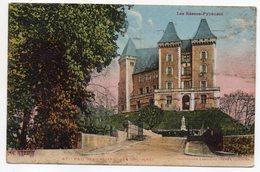 PAU--1931--La Chateau Vu De L'Ouest -carte Colorisée---tp N°270 --cachet PAU - Pau
