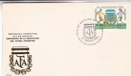 CENTENARIO ASOCIACION FUTBOL ARGENTINO AFA. FDC 1993 BUENOS AIRES, ARGENTINA - BLEUP - Brieven En Documenten