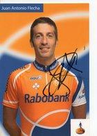 CYCLISME  TOUR DE FRANCE AUTOGRAPHE JUAN ANTONIO FLECHA - Radsport