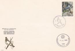 AVES ARGENTINAS DE AXEL AMUCHASTEGUI, MARTIN PESCADOR STAMP. FDC 1993 BUENOS AIRES, ARGENTINA - BLEUP - Andere