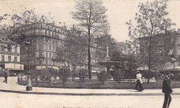 75. PARIS. CPA. LA PLACE PIGALLE COTE EST. ANNEE 1905 - Arrondissement: 18