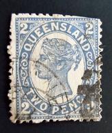 1895 Queensland Yt 79 Queen Victoria Oblitéré Used - 1860-1909 Queensland