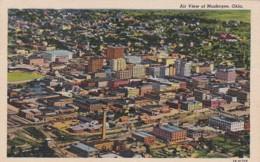 Oklahoma Muskogee Aerial View1963 Curteich - Muskogee
