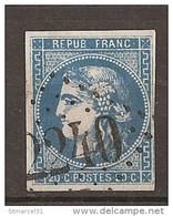 PRIX FIXE 1er SERVI N°46Ba Bleu Foncé TBE 70€ - 1870 Ausgabe Bordeaux