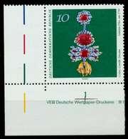 DDR 1971 Nr 1683 Postfrisch ECKE-ULI X9864EA - Unused Stamps