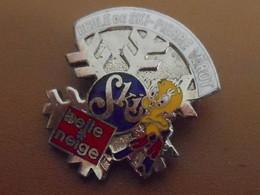 Insigne à épingle/ SKI/ Canada /Etoile / Ecole De Ski Pierre Vérot/ Belle Neige/ Titi/Vers 1980   SPO343 - Sports D'hiver