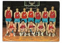 Yugoslavia 1970 Basketball Team Slovenijales Edition - Yugoslavia