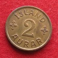 Iceland 2 Aurar 1931 Islande Islanda Islandia - Iceland
