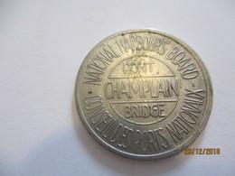 Jeton De Péage /CANADA/ Pont Champlain Bridge/Conseil Des Ports Nationaux/National Harbours Board/ Vers 1962-90 BILL198 - Gettoni E Medaglie