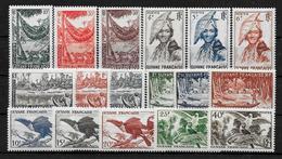 GUYANE Colonie Française : Série 201 à 217 **  TB (cote 63,50) - Guyane Française (1886-1949)