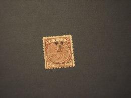 FIJI -  1891/3 STEMMA 2 1/2 P. - TIMBRATOUSED - Fiji (...-1970)