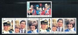 "Gurensey    ""Royal Wedding""""     Set    SC# 224-26  MNH - Guernsey"