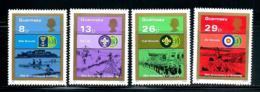 """Gurensey    """"Scout""""     Set    SC# 246-49  MNH - Guernsey"""