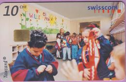 Télécarte Suisse °° SE.78. Enfants - 10CHF - Gem8 - 08.2000 - R. - Suisse