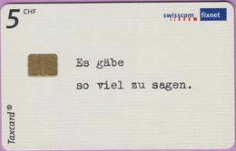 Télécarte Suisse °° SE.131. Texte Allemand - 5CHF - CL1 - 10.2002 - R. - Suisse