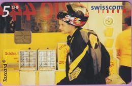 Télécarte Suisse °° SE.89. Livreur De Pizzas - 5CHF - Gem8 - 01.2001 - R. - Suisse