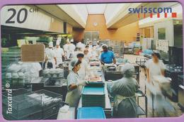 Télécarte Suisse °° SE.79. Cuisine - 20CHF - Gem8 - 08.2000 - R. - Suisse