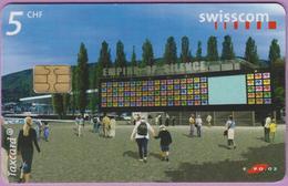Télécarte Suisse °° SE.122. Expo Le Pavillon - 5CHF - CL1 - 05.2002 - R. - Suisse