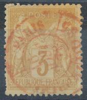 N°86 CACHET ROUGE - 1876-1898 Sage (Type II)