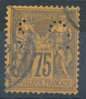 N°99  BEAU CACHET A DATE - 1876-1898 Sage (Type II)