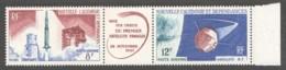 1966 - Triptyque  1er Satellite  Yv PA 85A ** - Neukaledonien